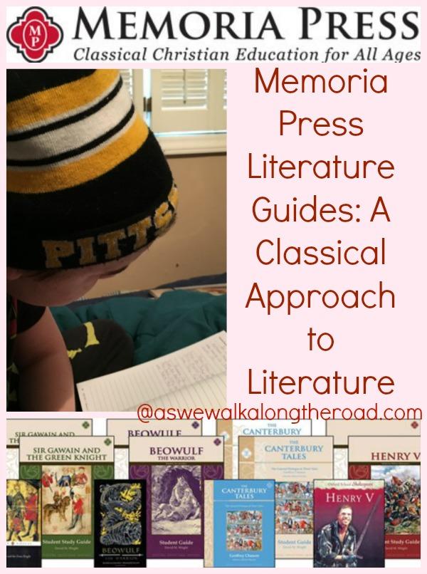 memoria press literature guide reviews Tos review: third grade literature guide set from memoria press.