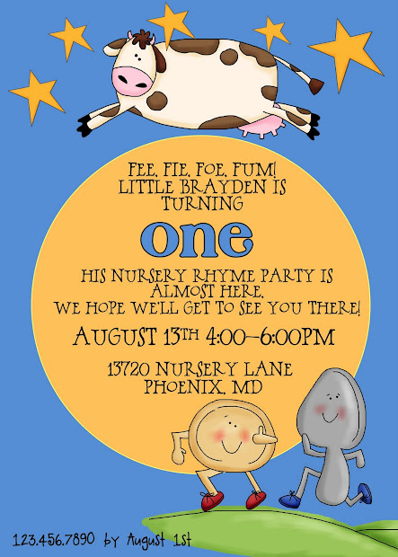 20 Birthday Invitations That Rhyme Pictures And Ideas On Meta Networks