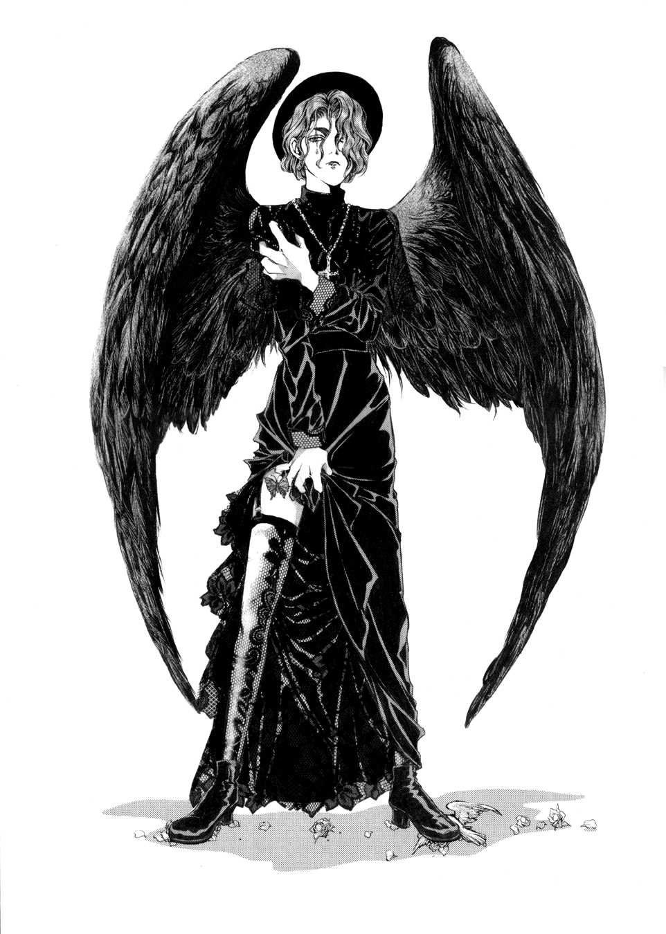 Belial from Kaori Yuki's Angel Sanctuary.