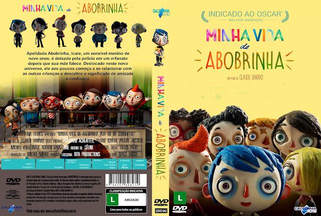 Capa DVD Minha Vida De Abobrinha