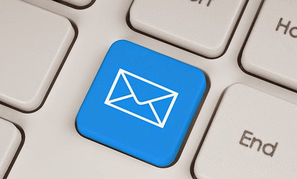 Email subscription widget with Follow buttons for blogger