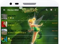 New BBM Mod TinkerBel Theme V2.13.0.26 + BBM2