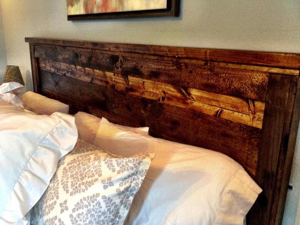 59 Incredibly Simple Rustic Décor Ideas That Can Make Your: 21 Wood Headboard Design Ideas