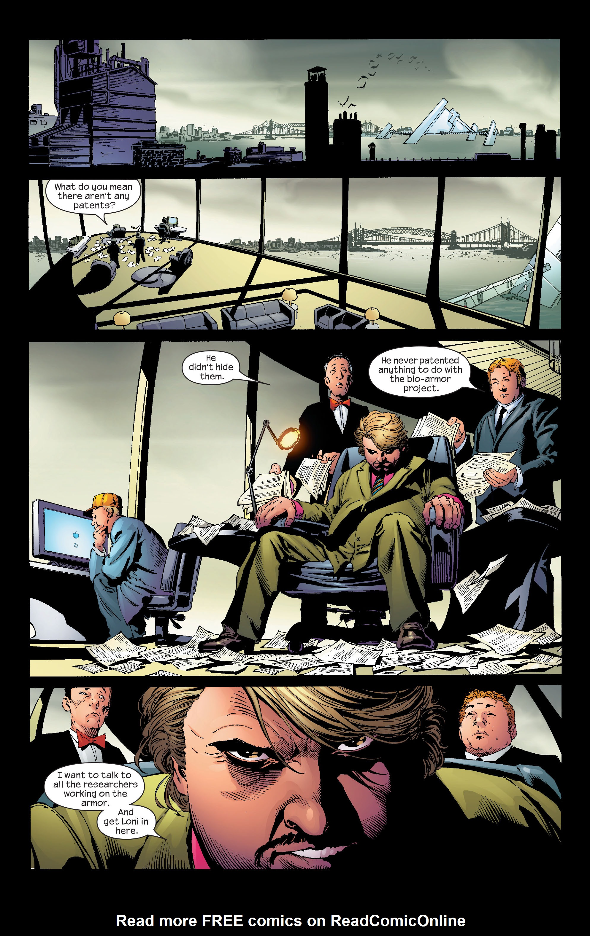 Read online Ultimate Iron Man (2005) comic -  Issue #2 - 8