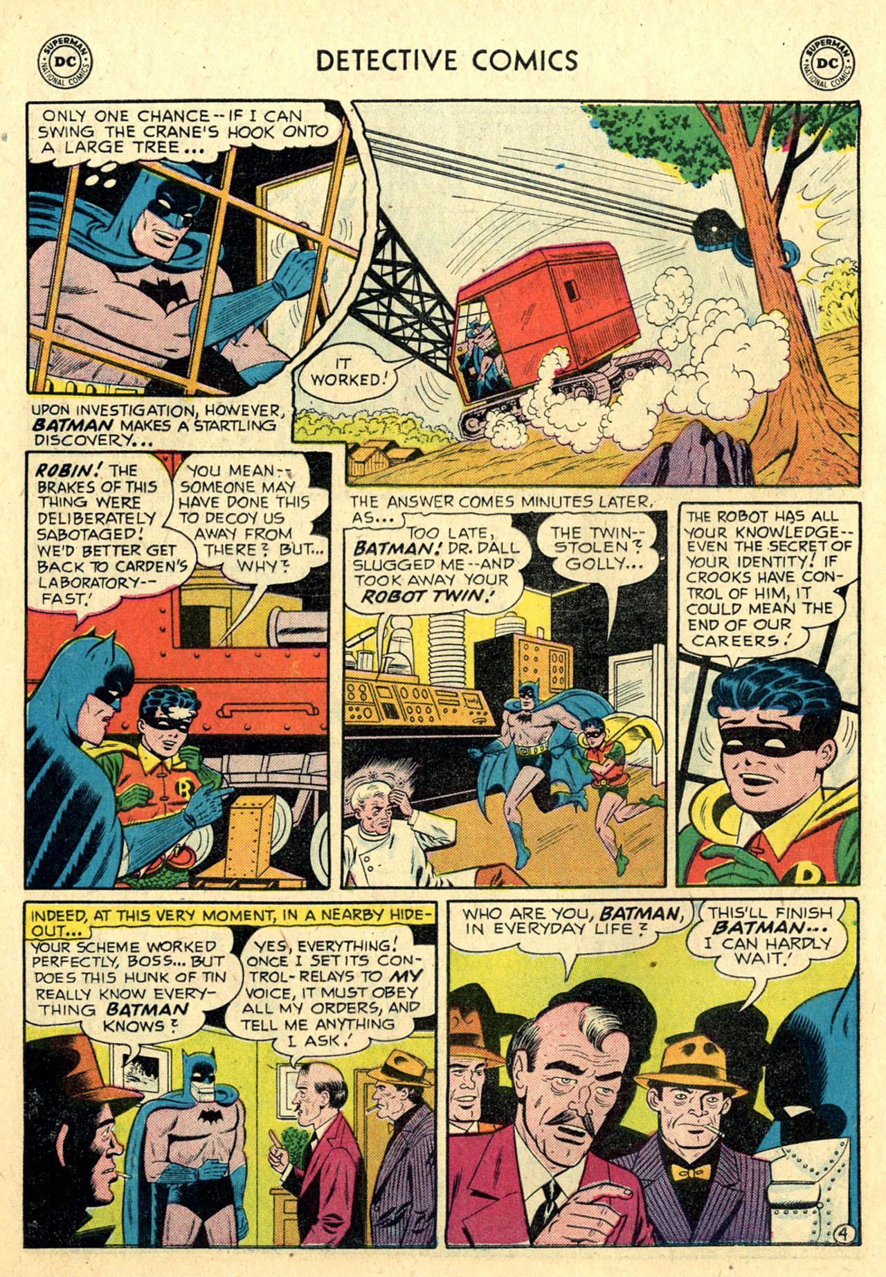 Read online Detective Comics (1937) comic -  Issue #239 - 6