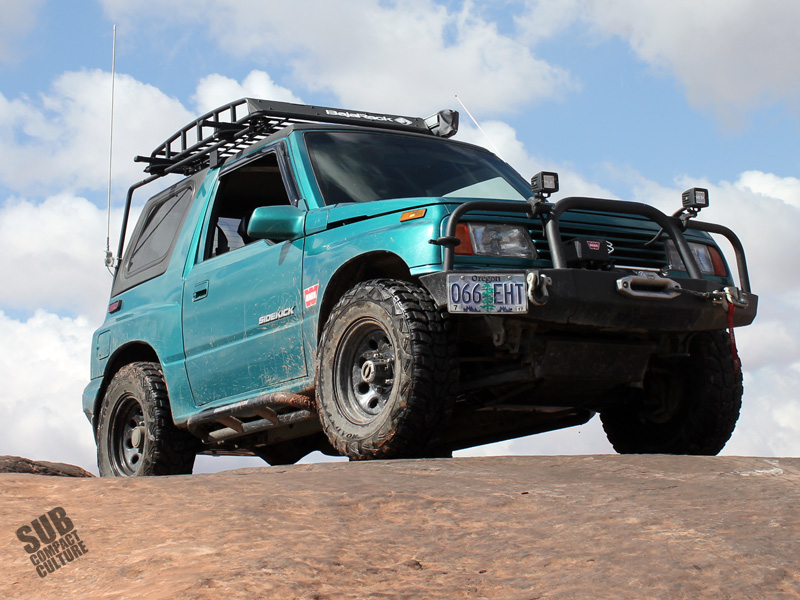 The Subcompact Culture Suzuki Sidekick -- AKA -- the Teal Terror