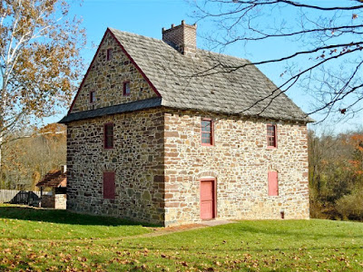 Henry Antes House Museum in Montgomery County Pennsylvania