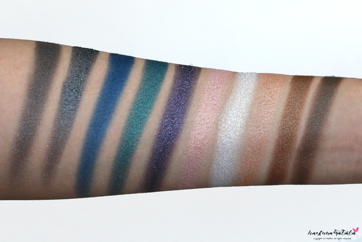 Natasha Denona Eyeshadow Palette 10 Review, Swatches & MOTD