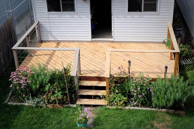 stripper stain outdoor deck