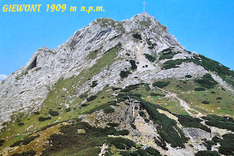 Giewont 1909 m n.p.m