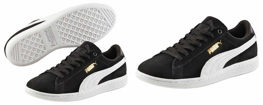 Puma Vikky SoftFoam Sneakers in black for only $28 (reg $55)