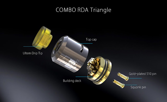 IJOY COMBO RDA Triangle Preview