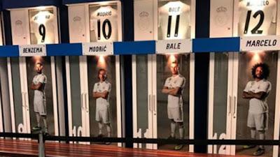 Boca ocupara el vestuario del Real Madrid en el Bernabéu