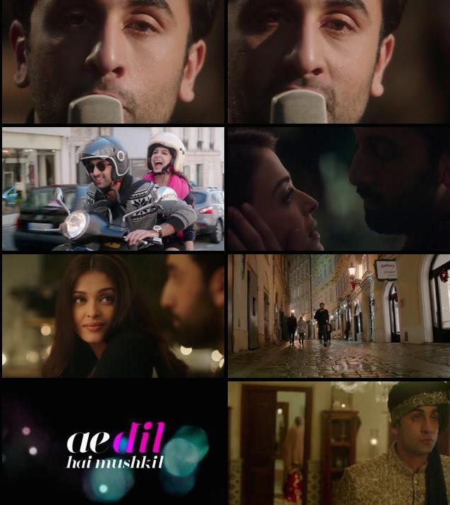 Ae Dil Hai Mushkil Teaser Trailer 720p HD Download