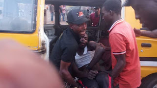 An accident just occured at Nkpor junction Onitsha Anambra