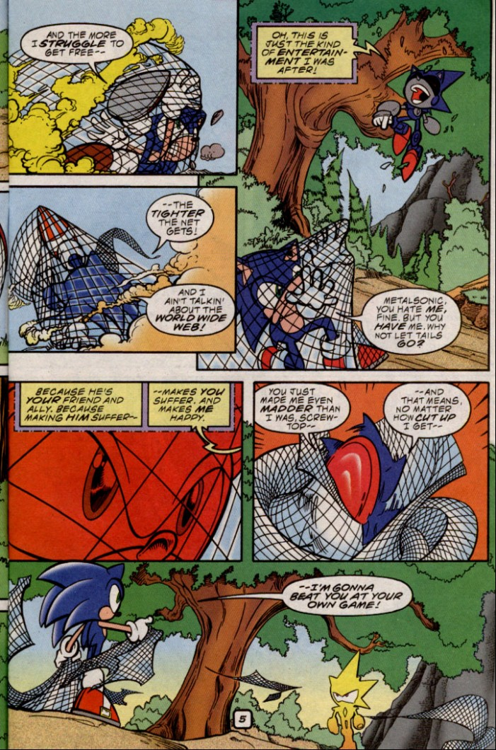Read online Sonic The Hedgehog comic -  Issue #87 - 5
