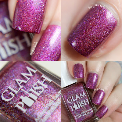Glam Polish Frankly Scarlet, I don't give a Glam │ A Fan Group Custom Shade