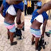 OMG!! Boy Wears His Sister's Panties After Stealing It In Lagos (Photos)