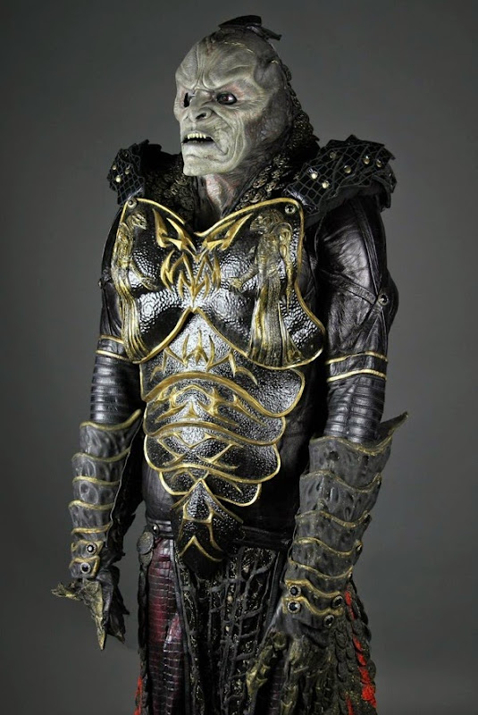 Scarran Captain Jenek costume prosthetics Farscape