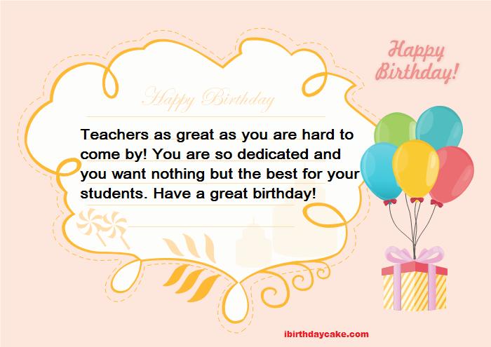best happy birthday wishes to teacher messages