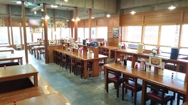 我部祖河食堂 中城店の店内の写真