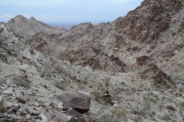 faint prospector trail
