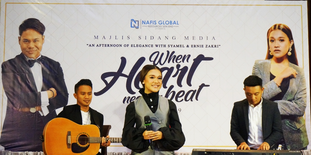 Ernie Zakri, Syamel, Aku Cinta, Vokal Terbaik, Secretaries' Week, Minggu Setiausaha, An Afternoon of Elegance with Syamel and Ernie Zakri - When Heart Need A Beat, Marriot Putrajaya Hotel, Rawlins GLAM