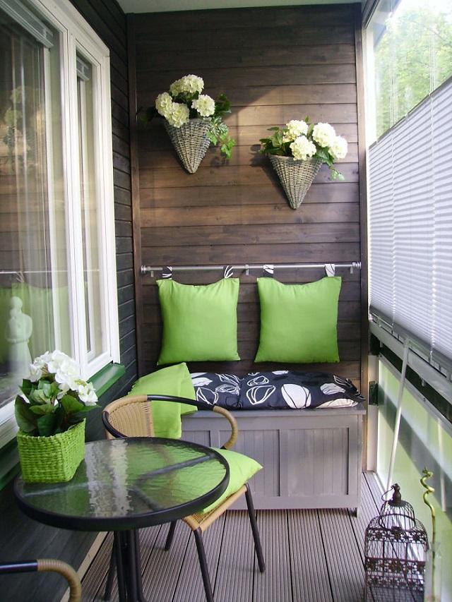 Balkon Dekorasyonu Ornekleri