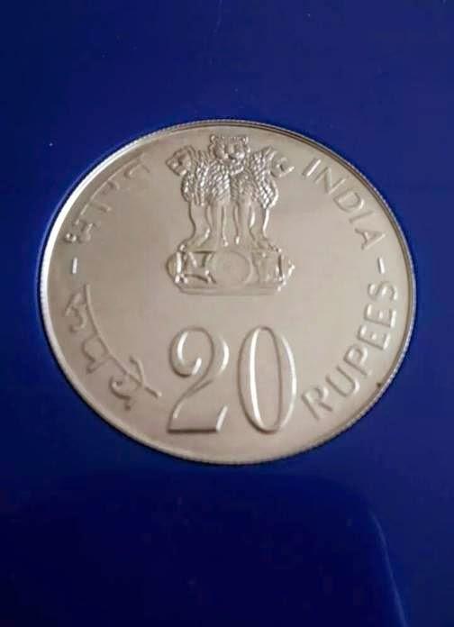 Golden google: RBI LAU... Indian Rupees Coins 1000