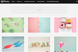 Download Phorto Blogger Template (Premium)