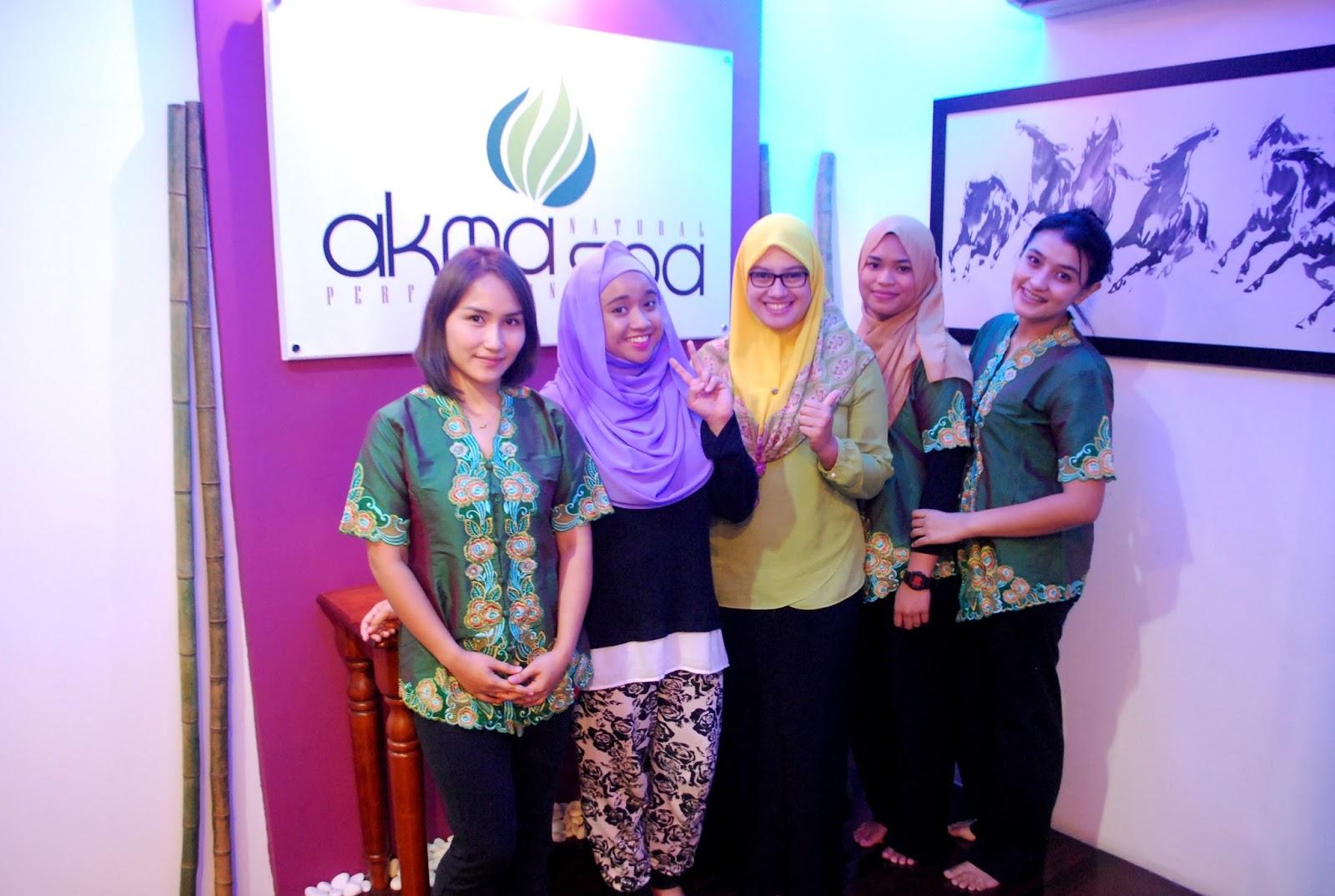 Sophie al yahya pengalaman pertama di spa wanita muslimah for Uniform spa malaysia