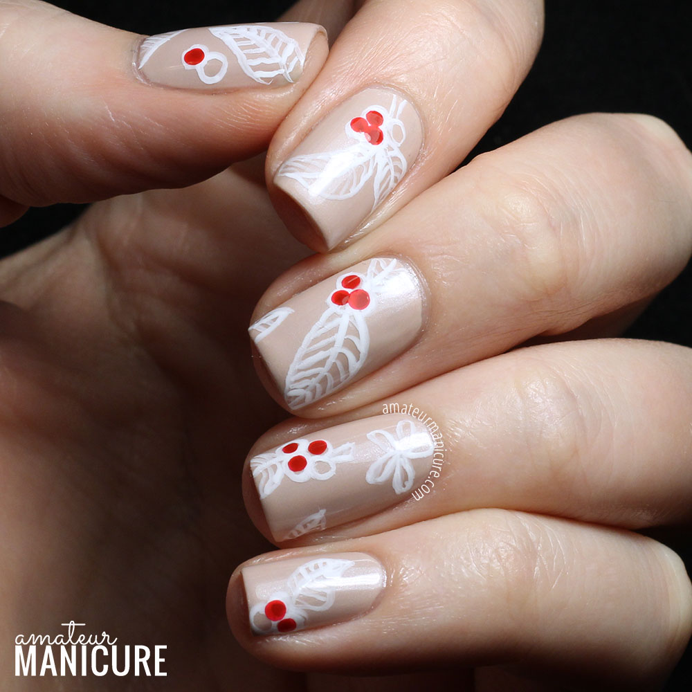 Amateur Manicure A Nail Art Blog Starbucks Inspired Chalk Art Nails