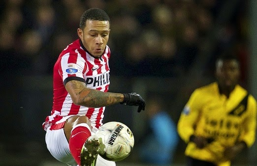 Liverpool to beat Manchester United for Memphis Depay