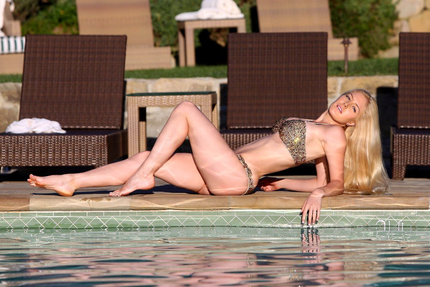 You will heidi montag posing naked