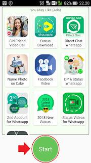 cara menyimpan video dari status whatsapp teman