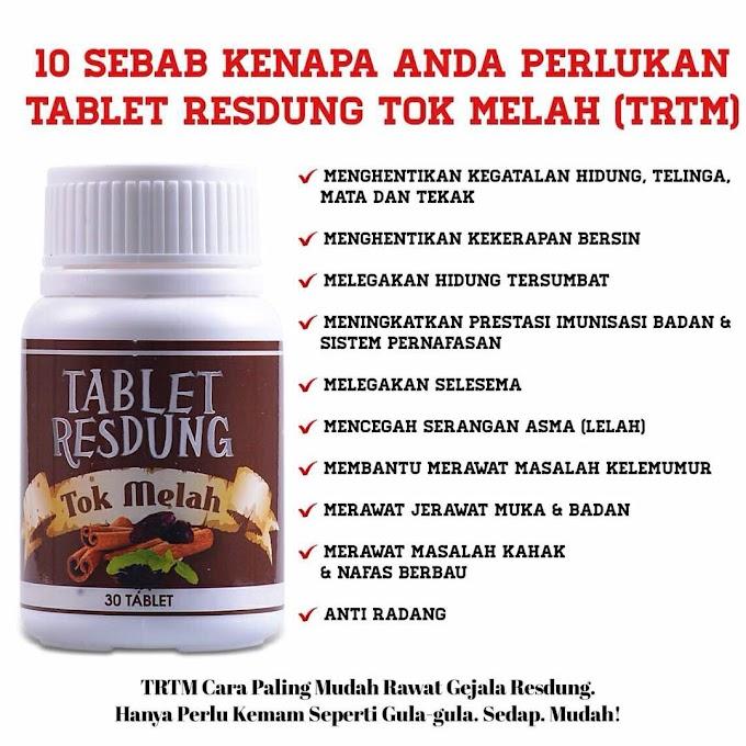 Penawar Resdung Tablet Resdung Tok Melah (TRTM)