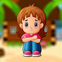 Play AVMGames Crying Baby Girl Escape