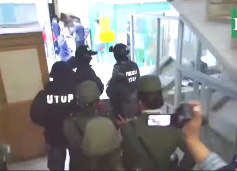 Medios en cobertura de la declaración de principal sospechosa intelectual / CAPTURA EL DEBER