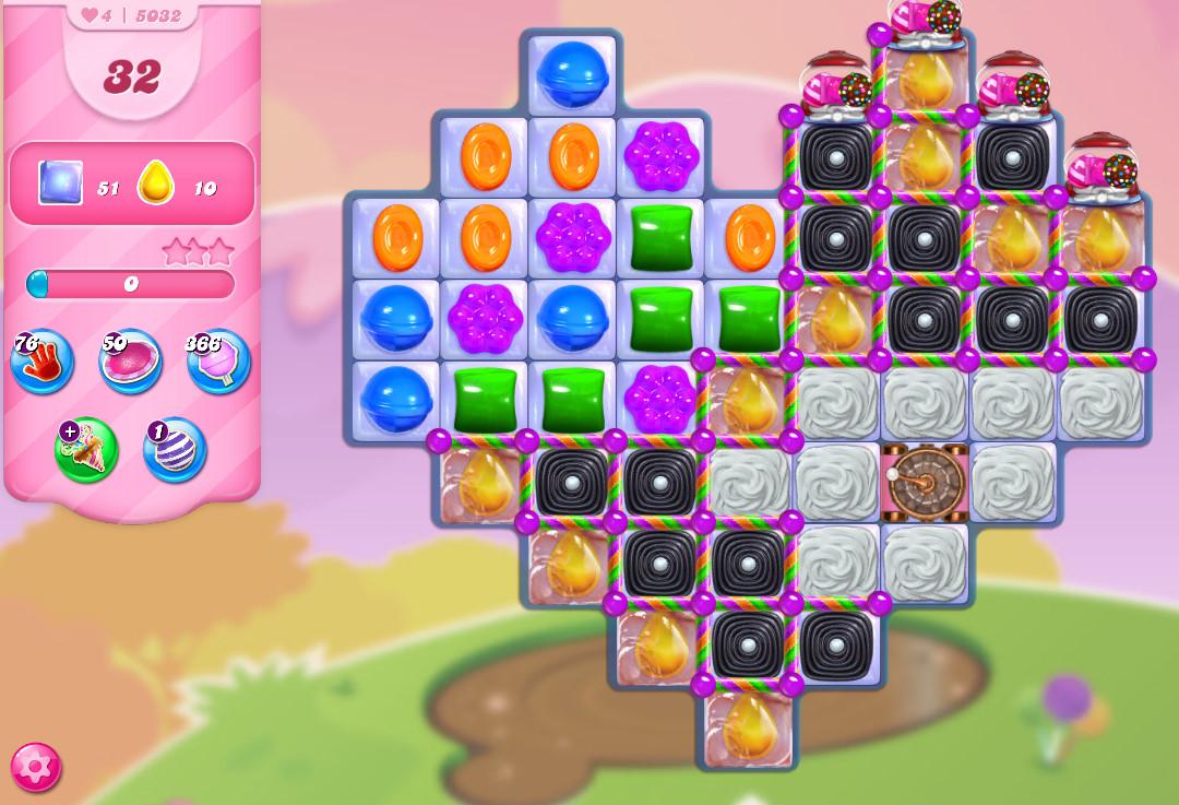Candy Crush Saga level 5032