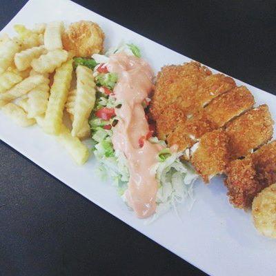Chicken Katsu by Smescoffee