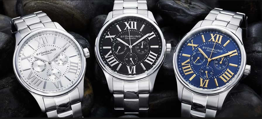 Stuhrling Men's watches - stylish & affordable watches