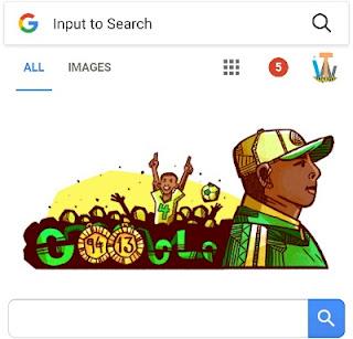Stephen Keshi google doodle