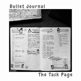bujo indonesia the task page
