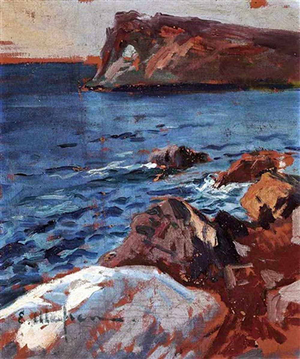 Eliseu Meifrèn i Roig,  Sa Foradada, Mallorca en Pintura, Mallorca pintada, Paisajes de Mallorca