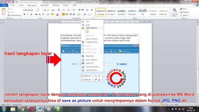 cara Screenshot layar komputer