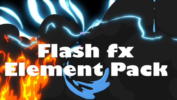 Flash Fx Element Pack 11989134 Videohive - Free Download Motion Graphics