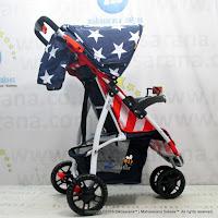 Junior L'abeille A503 3-Wheeler Baby Stroller