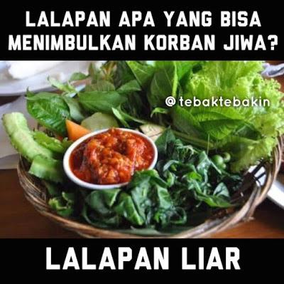 10 Meme 'Tebakan-tebakan Nama Sayuran' Ini Lucunya Bikin Mikir