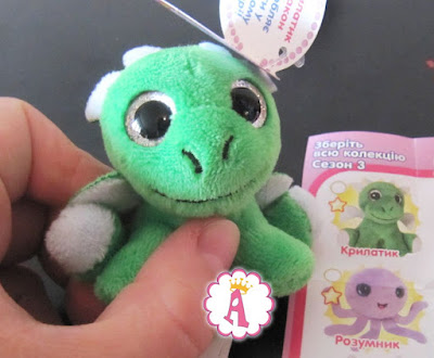 Surprizamals S3 Dragon Drake Сюрпризамалс зеленый дракошка
