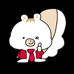 Squirrel/Lister-kun &Hollis-chan Sticker